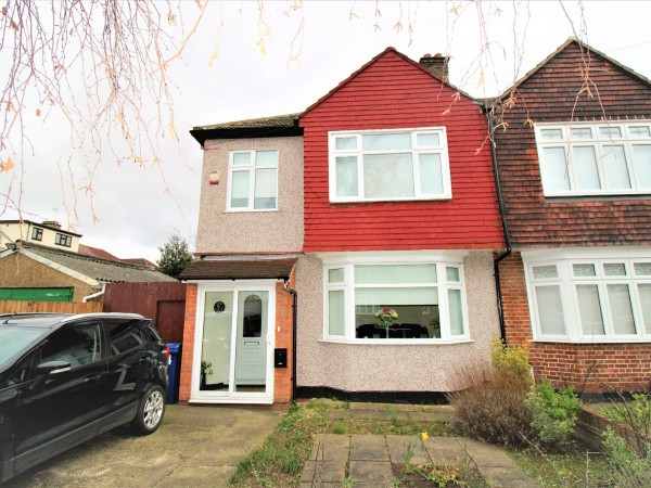 3 Bed Semi-detached House For Sale - Front