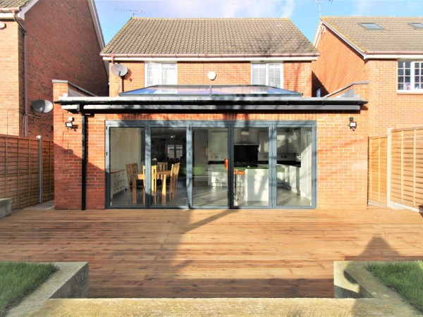 4 Bed Detached House For Sale - Back View