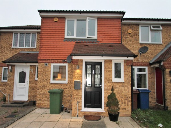 2 Bed Mid Terraced House For Sale - Exterior
